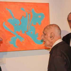 Achille Bonito Oliva, Gillo Dorfles, Fulvio Caldarelli.